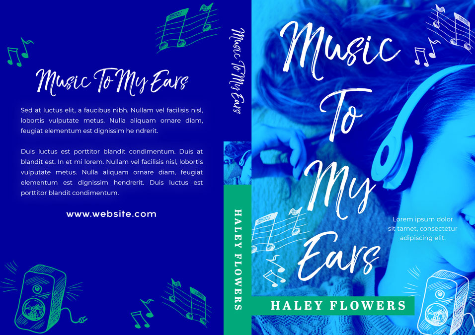 Music To My Ears - Young Adult Premade Book Cover For Sale @ Beetiful Book Covers
