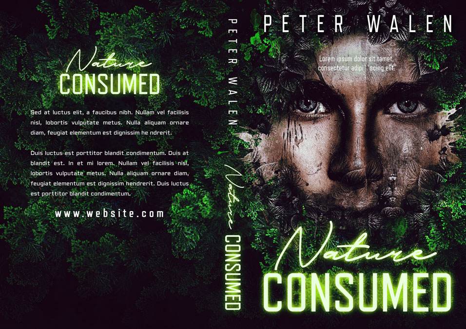 Nature Consumed - Fantasy Premade Book Cover For Sale @ Beetiful Book Covers