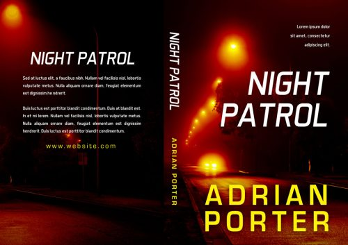 Night Patrol - Mystery, Thriller, Suspense Premade Book Cover For Sale @ Beetiful Book Covers