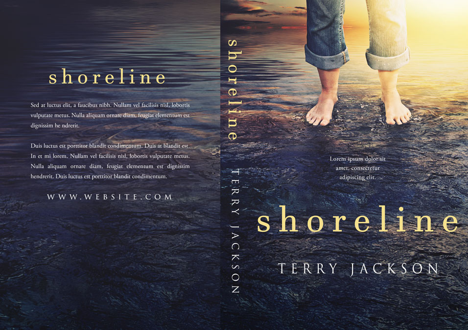 Shoreline - Fiction / Mystery Premade Book Cover For Sale @ Beetiful Book Covers