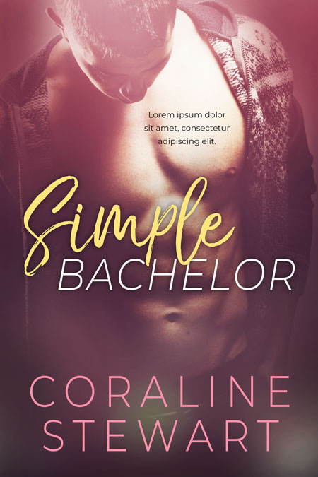 Simple Bachelor - Romance Premade Book Cover For Sale @ Beetiful Book Covers