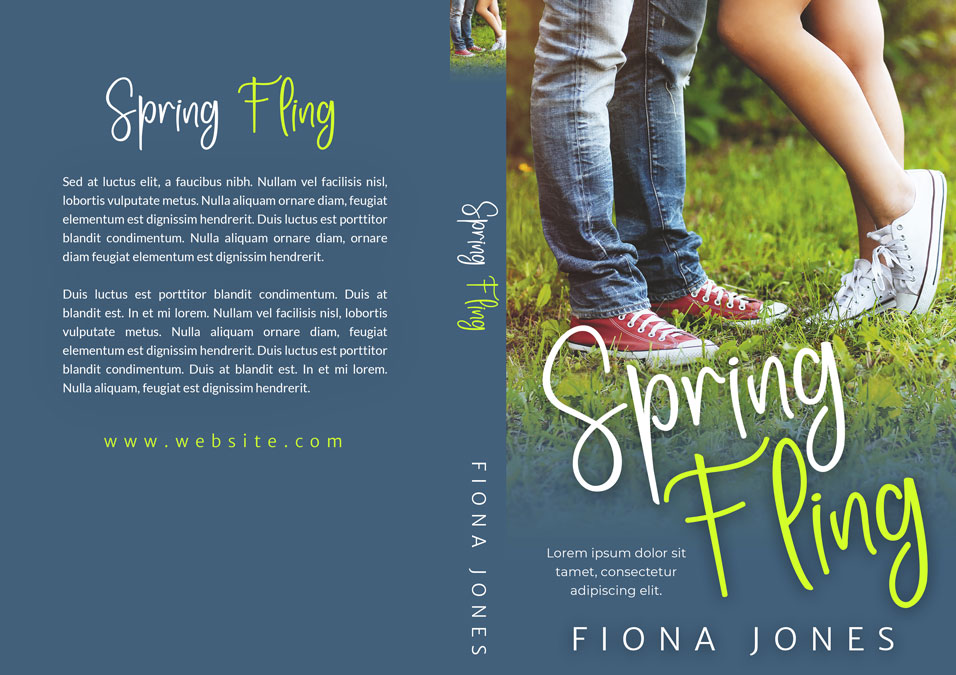 Spring Fling - Young Adult Romance Premade Book Cover For Sale @ Beetiful Book Covers