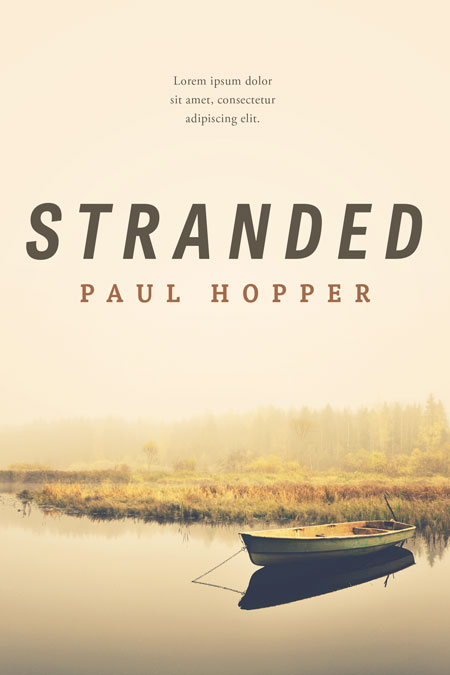 Stranded - Mystery, Thriller, Suspense Premade Book Cover For Sale @ Beetiful Book Covers