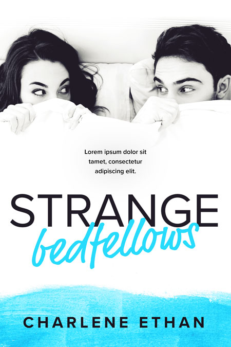 Strange Bedfellows - Contemporary Romance Premade Book Cover For Sale @ Beetiful Book Covers