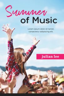 Summer of Music - Young Adult Premade Book Cover For Sale @ Beetiful Book Covers