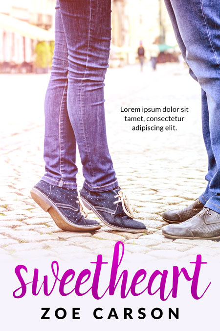 Sweetheart - Young Adult Romance Premade Book Cover For Sale @ Beetiful Book Covers
