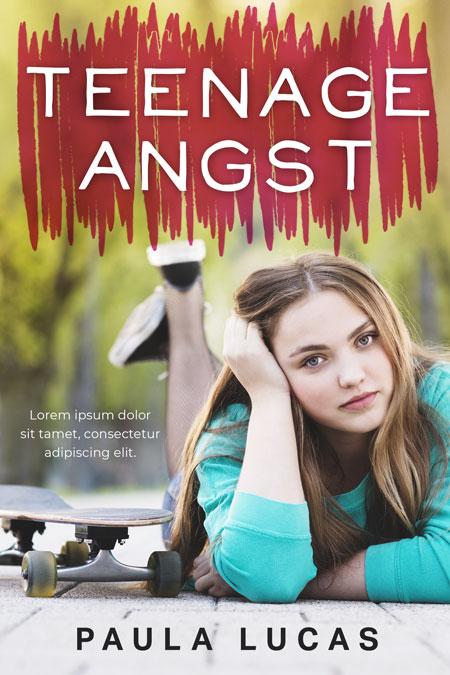 Teenage Angst - Young Adult Premade Book Cover For Sale @ Beetiful Book Covers