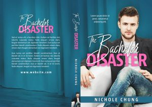 The Bachelor Disaster - Chick-lit / Romance Premade Book Cover For Sale @ Beetiful Book Covers