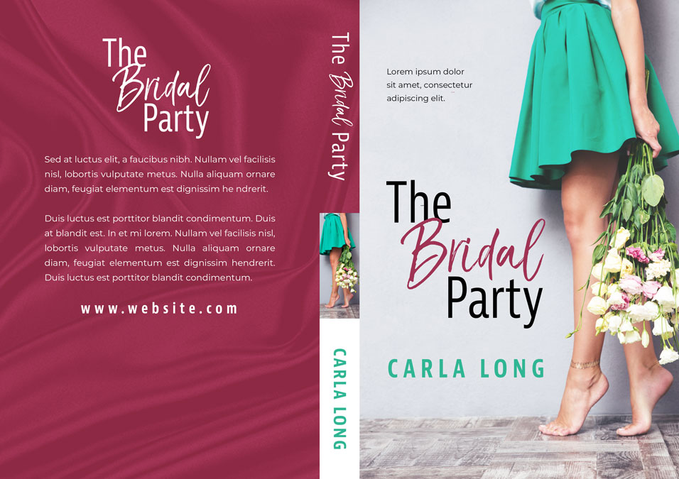 The Bridal Party - Contemporary Romance Premade Book Cover For Sale @ Beetiful Book Covers