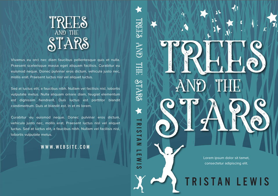 Trees and the Stars - Middle-grade Premade Book Cover For Sale @ Beetiful Book Covers