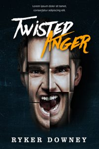 Twisted Anger - Thriller Premade Book Cover For Sale @ Beetiful Book Covers