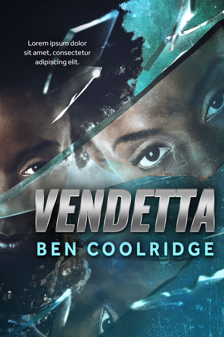Vendetta - African-American Mystery, Thriller, Suspense Premade Book Cover For Sale @ Beetiful Book Covers