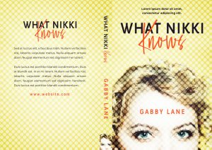 What Nikki Knows - Women's Fiction Premade Book Cover For Sale @ Beetiful Book Covers