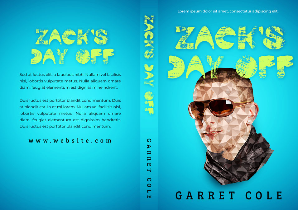 Zack's Day Off - Young Adult Premade Book Cover For Sale @ Beetiful Book Covers