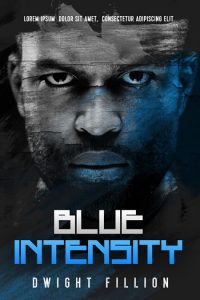 Blue Intensity - Science Fiction / Thriller Premade Book Cover For Sale @ Beetiful Book Covers