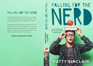 Falling For the Nerd - Young Adult Premade Book Cover For Sale @ Beetiful Book Covers