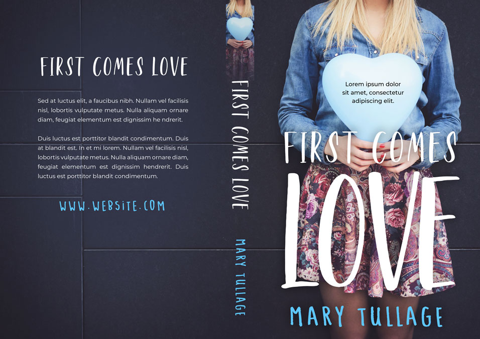 First Comes Love - Young Adult Romance Premade Book Cover For Sale @ Beetiful Book Covers