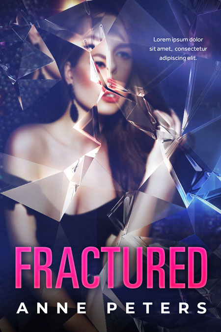Fractured - Romantic Suspense Premade Book Cover For Sale @ Beetiful Book Covers