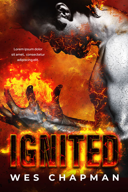 Ignited - Thriller / Fantasy Premade Book Cover For Sale @ Beetiful Book Covers