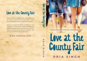 Love at the County Fair - Young Adult Romance Premade Book Cover For Sale @ Beetiful Book Covers