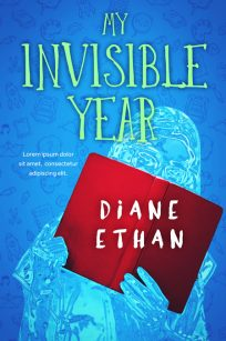 My Invisible Year - Young Adult Fiction Premade Book Cover For Sale @ Beetiful Book Covers