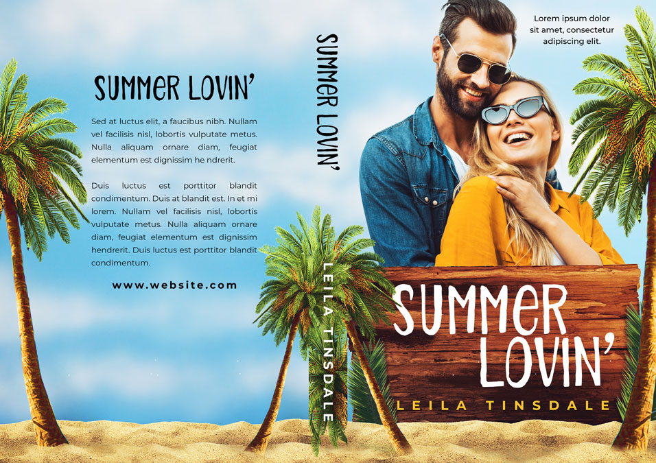 Summer Lovin' - Contemporary Romance Premade Book Cover For Sale @ Beetiful Book Covers