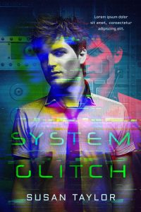 System Glitch - Science Fiction Premade Book Cover For Sale @ Beetiful Book Covers