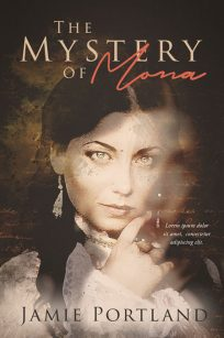 The Mystery of Mona - Mystery / Historical Fiction Premade Book Cover For Sale @ Beetiful Book Covers