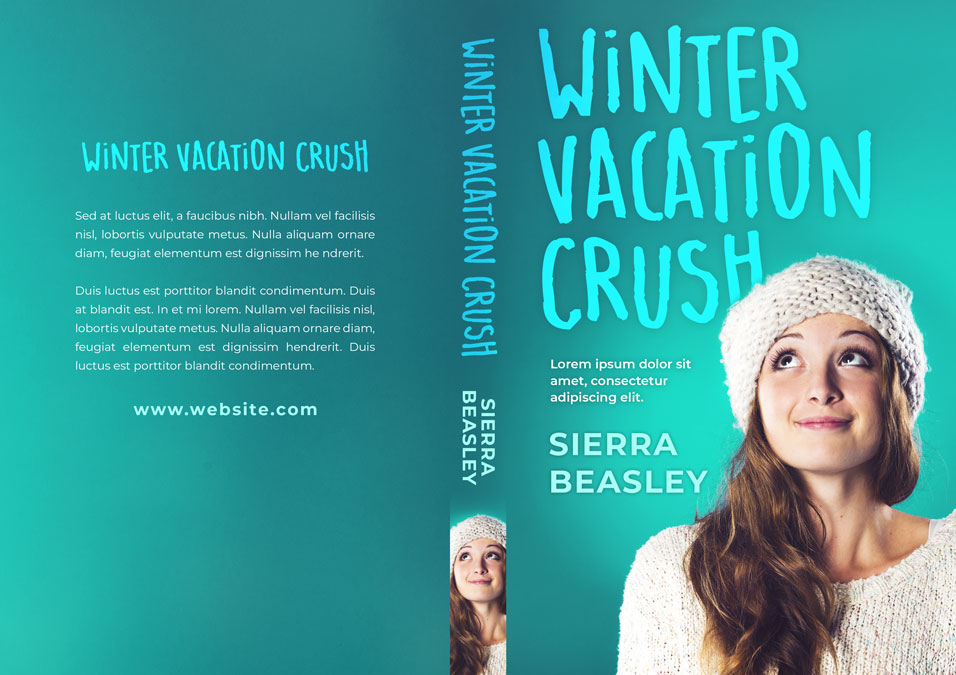 Winter Vacation Crush - Young Adult / Chick-lit Premade Book Cover For Sale @ Beetiful Book Covers