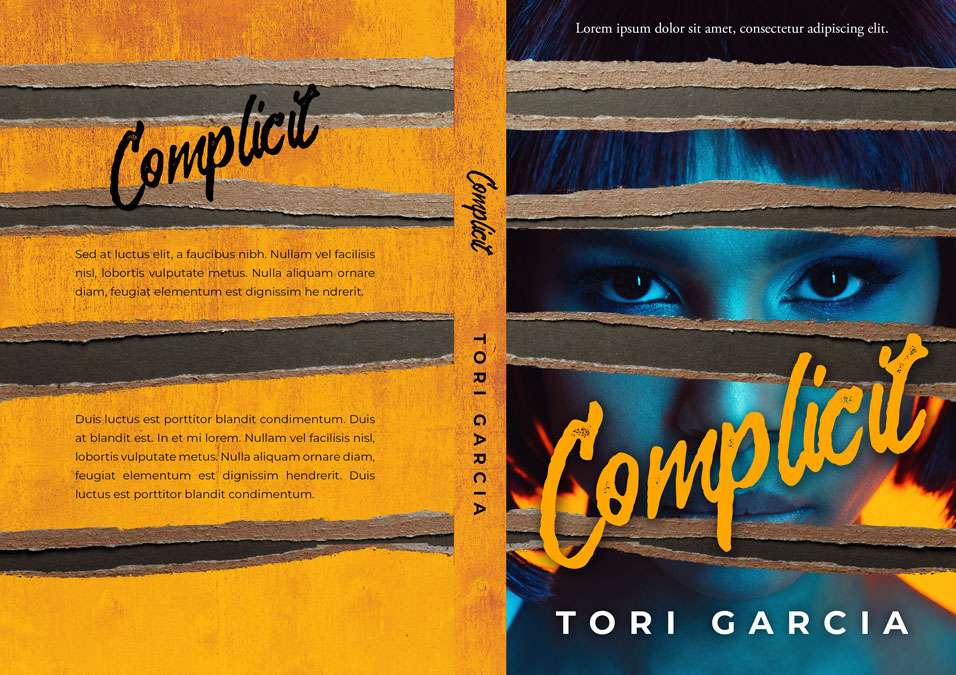 Complicit - African-American Mystery, Thriller, Suspense Premade Book Cover For Sale @ Beetiful Book Covers