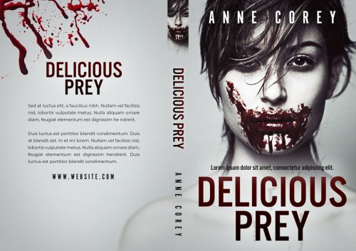 Delicious Prey - Horror Premade Book Cover For Sale @ Beetiful Book Covers