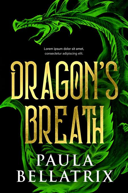 Dragon's Breath - Fantasy Premade Book Cover For Sale @ Beetiful Book Covers