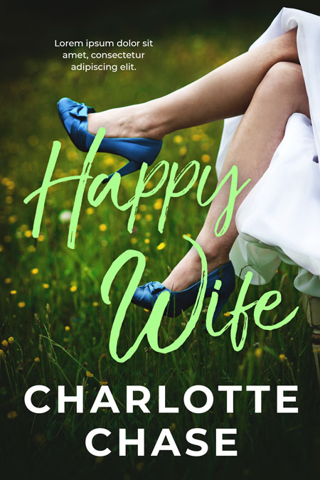 Happy Wife - Romance Premade Book Cover For Sale @ Beetiful Book Covers