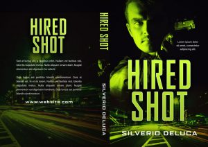 Hired Shot - Thriller / Romantic Suspense Premade Book Cover For Sale @ Beetiful Book Covers