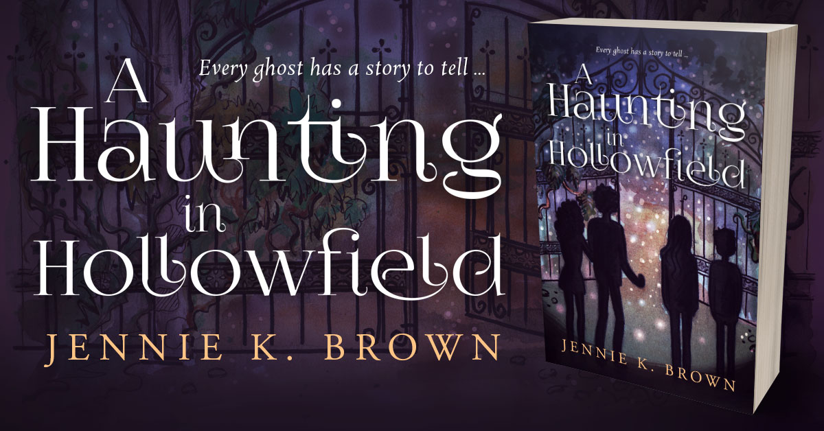 Showcase Spotlight: A Haunting in Hollowfield by Jennie K. Brown
