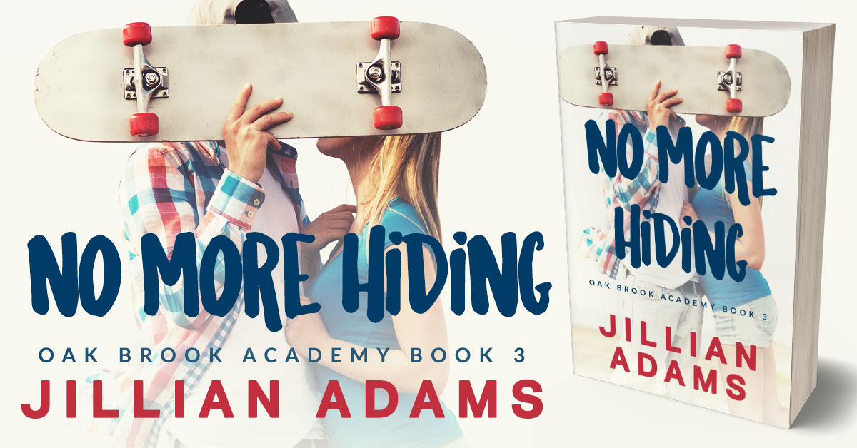 Showcase Spotlight: No More Hiding by Jillian Adams