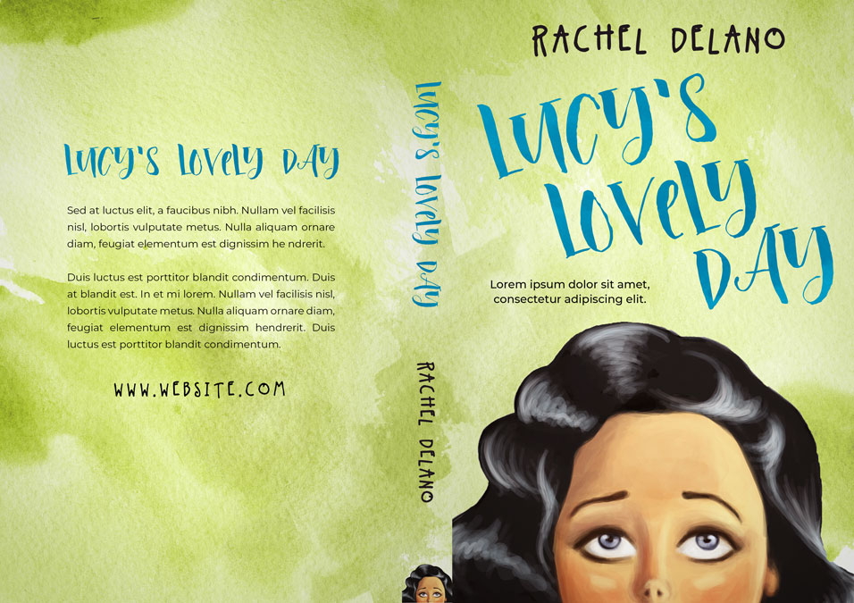 Lucy's Lovely Day - Women's Fiction / Chick-lit Premade Book Cover For Sale @ Beetiful Book Covers