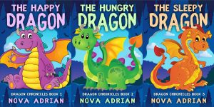Dragon Chronicles - Middle-grade Fantasy Series Premade Book Covers For Sale - Beetiful