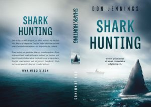 Shark Hunting - Horror Premade Book Cover For Sale @ Beetiful Book Covers