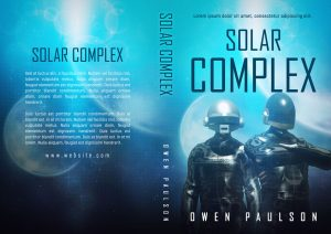 Solar Complex - Science Fiction Premade Book Cover For Sale @ Beetiful Book Covers