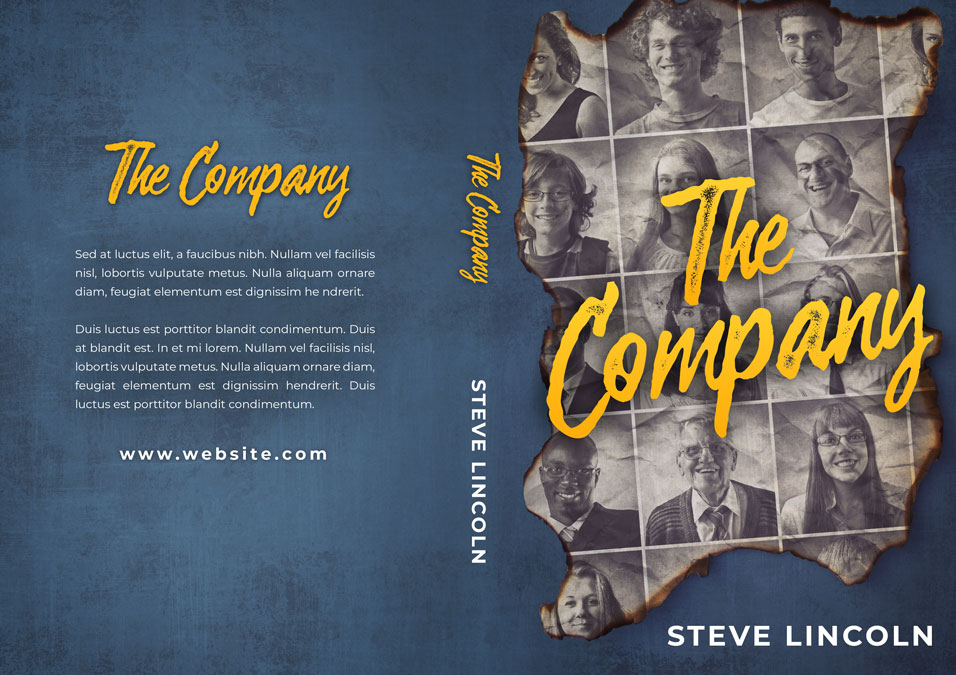 The Company - Mystery, Thriller, Suspense Premade Book Cover For Sale @ Beetiful Book Covers