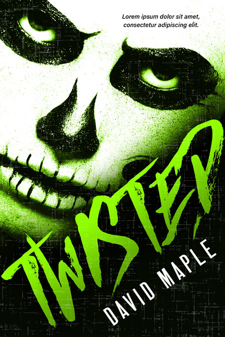 Twisted - Horror Premade / Predesigned Book Cover For Sale @ Beetiful Book Covers