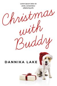 Christmas with Buddy - Christmas Premade Book Cover For Sale @ Beetiful Book Covers