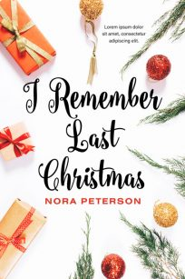 I Remember Last Christmas - Christmas Premade Book Cover For Sale @ Beetiful Book Covers