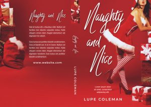 Naughty and Nice - Christmas Steamy Romance Premade Book Cover For Sale @ Beetiful Book Covers