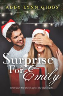 Surprise For Emily - Christmas Romance Premade Book Cover For Sale @ Beetiful Book Covers