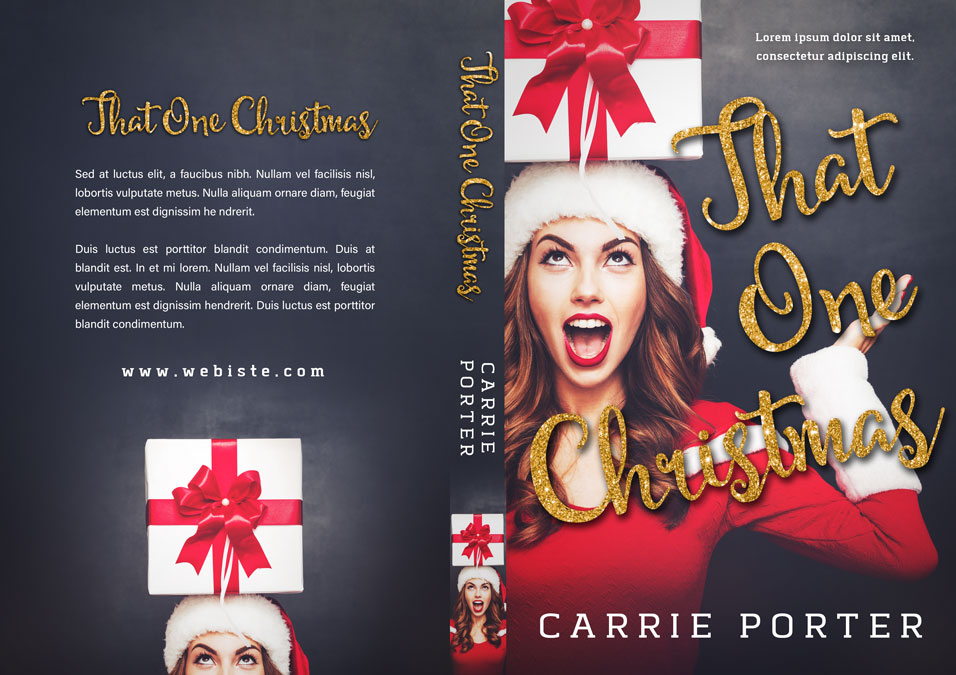 That One Christmas - Christmas Romance Premade Book Cover For Sale @ Beetiful Book Covers