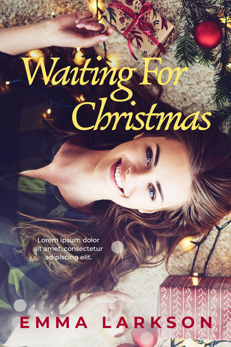 Waiting For Christmas - Young Adult Christmas Premade Book Cover For Sale @ Beetiful Book Covers