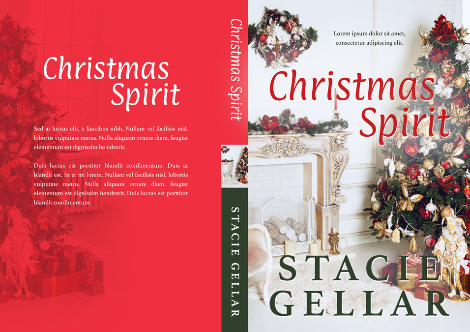 Christmas Spirit - Christmas Premade Book Cover For Sale @ Beetiful Book Covers
