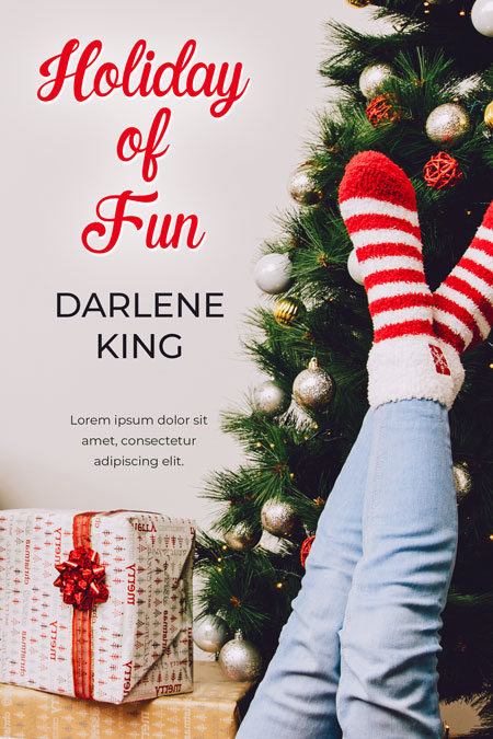 Holiday of Fun - Christmas Premade Book Cover For Sale @ Beetiful Book Covers